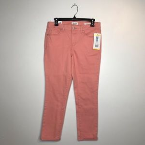 NWT Jessica Simpson Soft Sculpt Rolled Crop Skinny